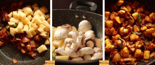 mushroom mappas recipe