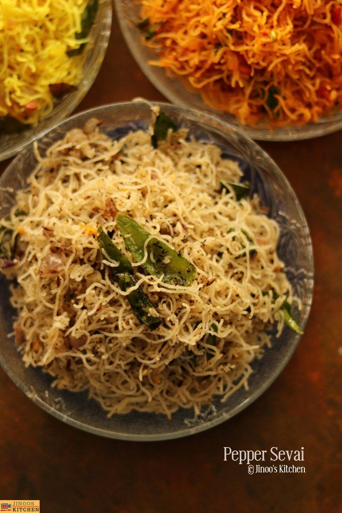 pepper sevai recipe