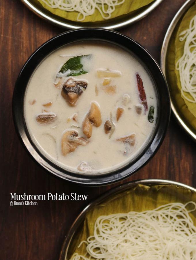 mushroom potato stew recipe