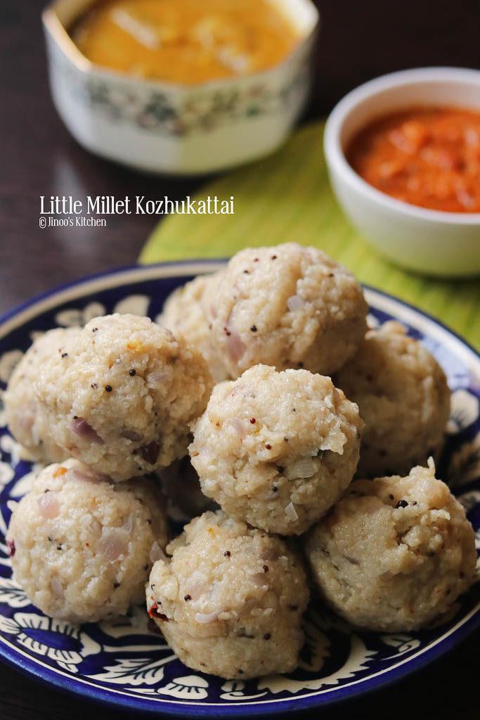 samai kozhukattai recipe little millet kozhukattai