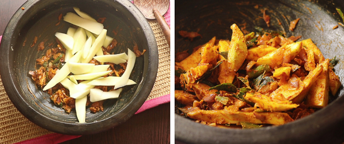 angamaly manga curry recipe Jinoo's Kitchen (11)