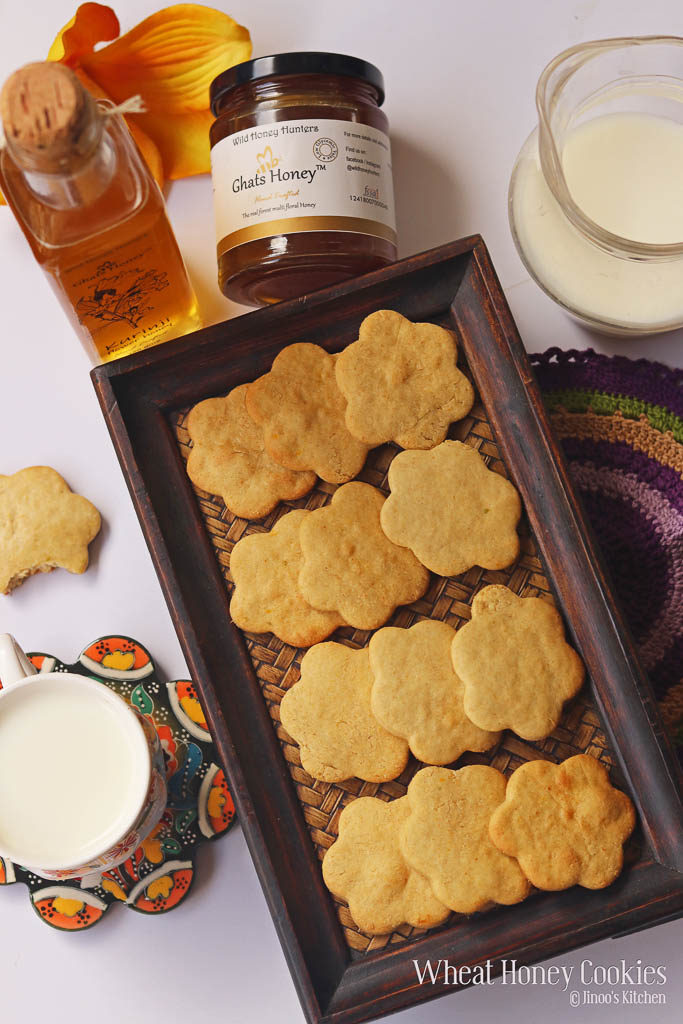 Wheat honey cookies recipe