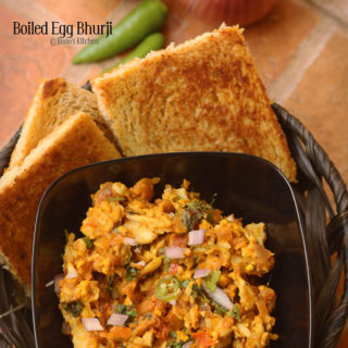 boiled egg bhurji recipe