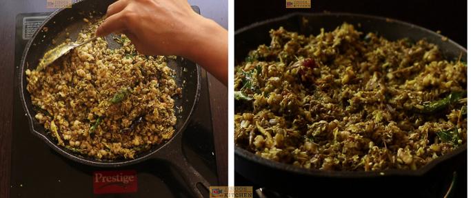 mix well Chundum payarum recipe