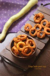 snake gourd rings recipe