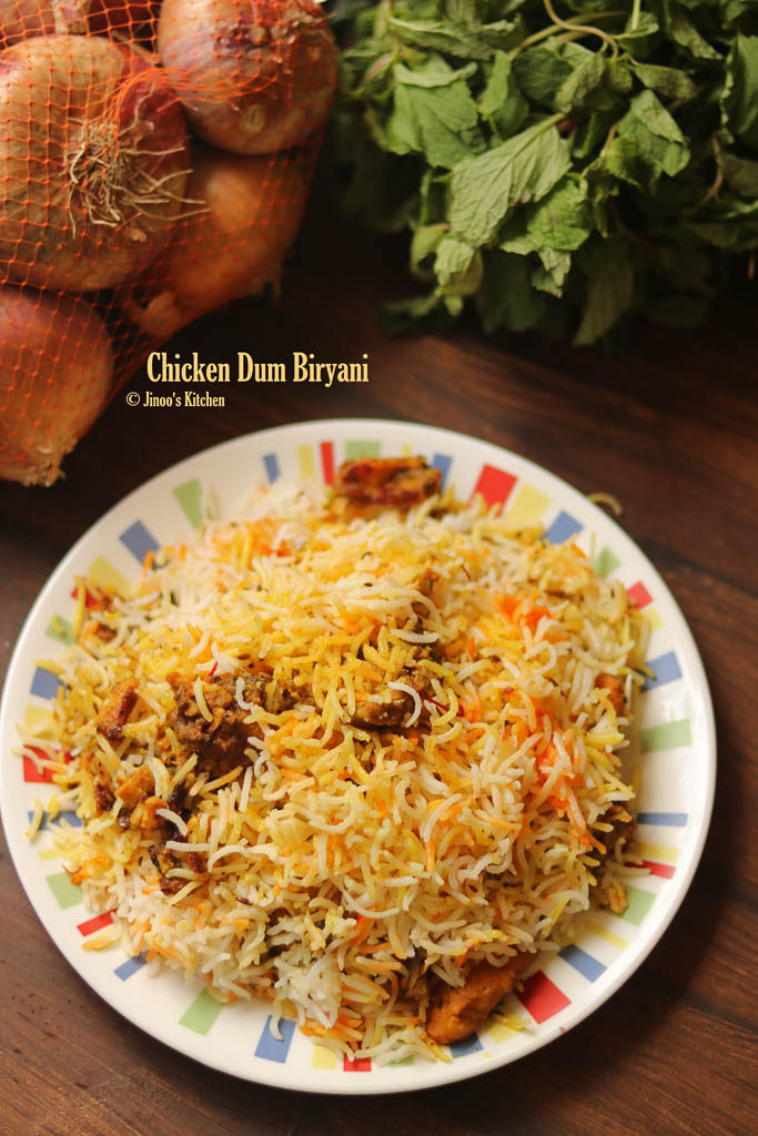 easy chicken dum biryani recipe