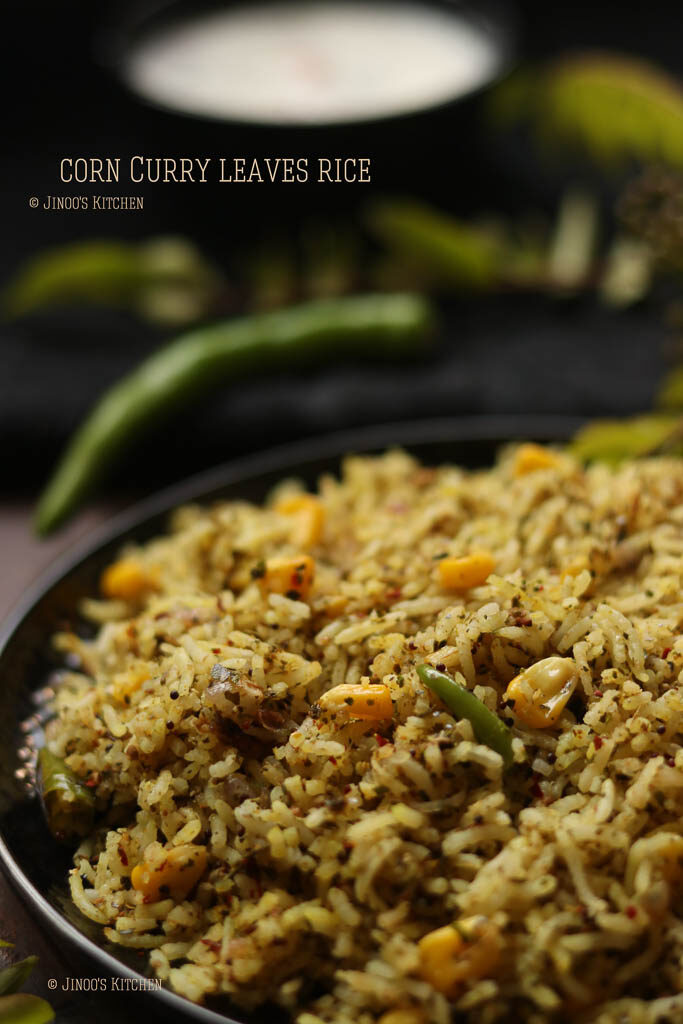 curry leaves rice recipe