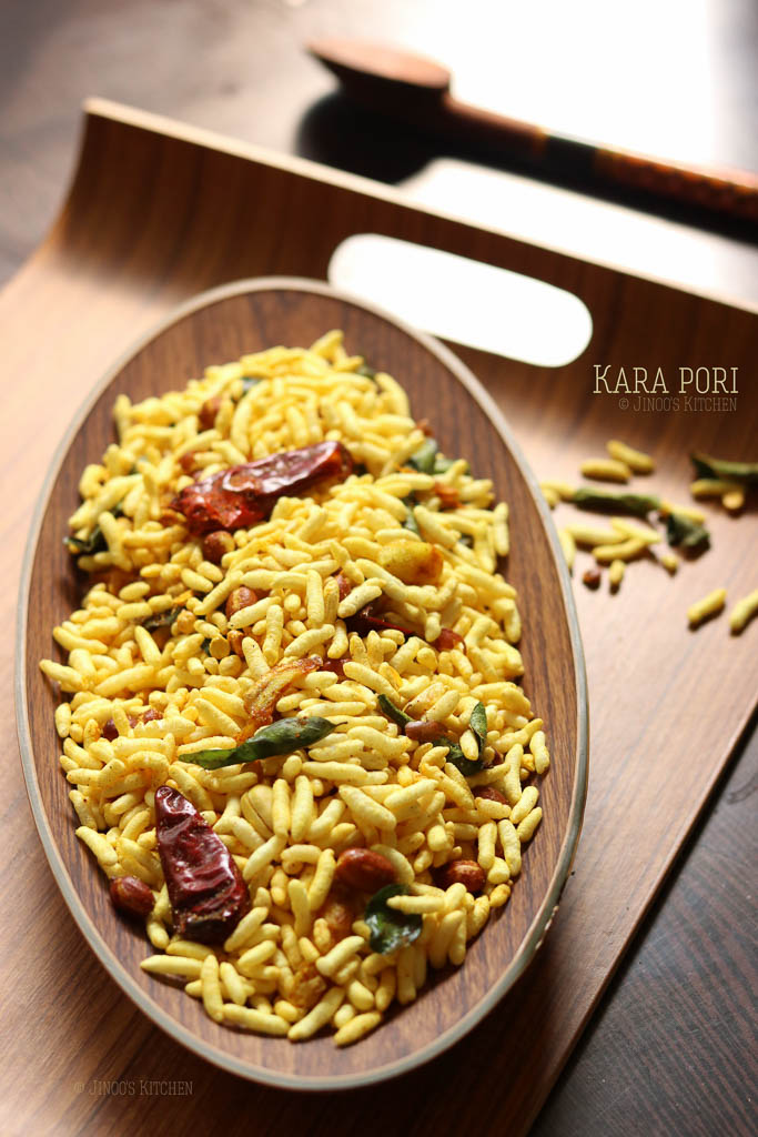kara pori recipe